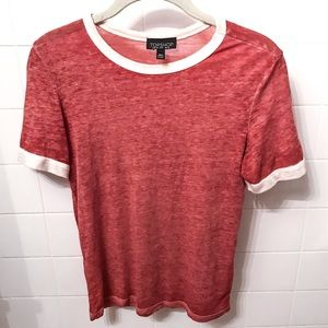 Topshop Fitted T-Shirt